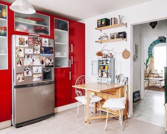 cocinas-modernas-roja-instagram-casa-de-amados