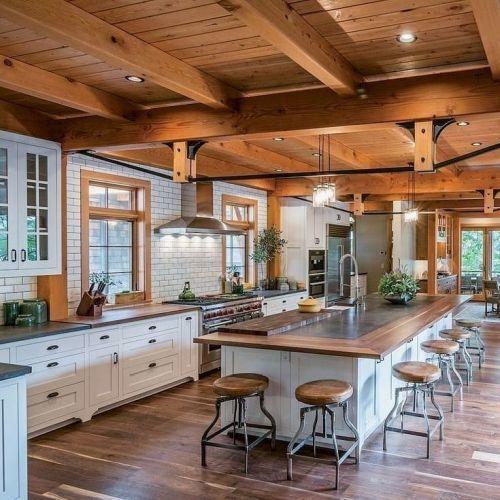 como-decorar-una-cocina-estilo-farmhouse-instagram-lara-calvo