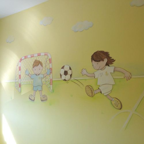 como-decorar-una-pared-infantil-futbol-instagram-decopared