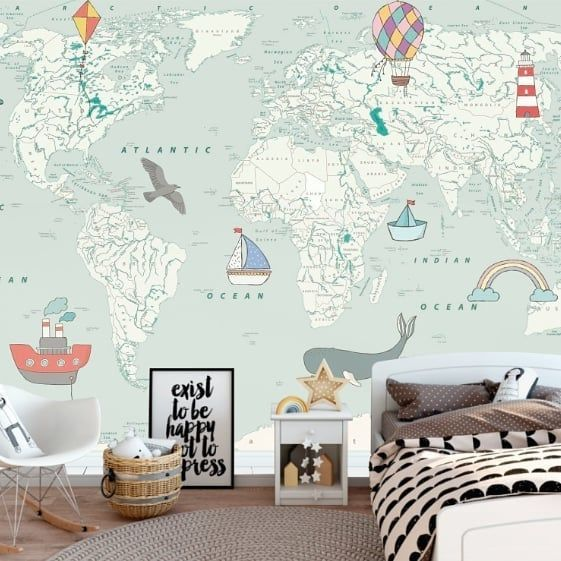 como-decorar-una-pared-infantil-futbol-instagram-mapa-wall-com-co