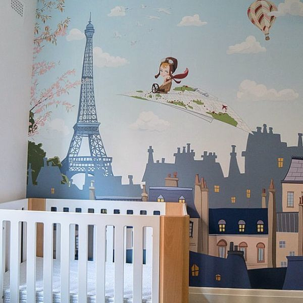 como-decorar-una-pared-infantil-instagram-garabato-mural
