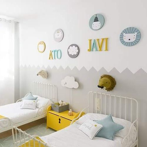 como-decorar-una-pared-infantil-pista-cuadros-instagram-haciendo-el-indio
