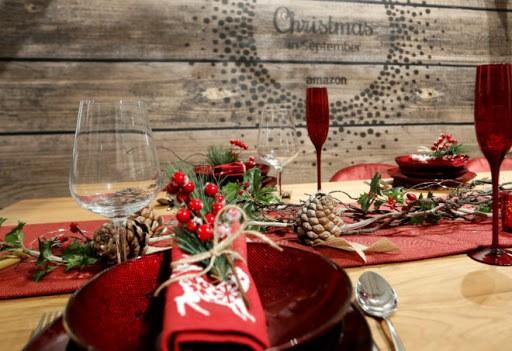 Cómo decorar la mesa de Navidad2021
