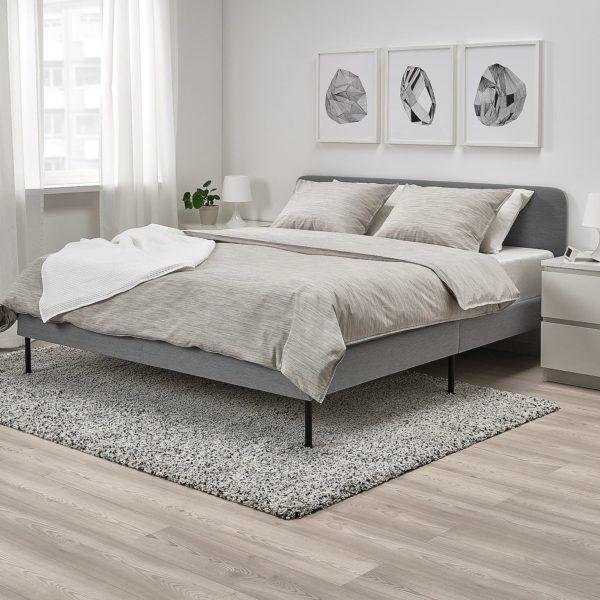 Catalogo dormitorios Ikea enero 2021 cama modelo slattum