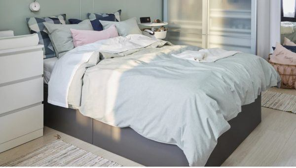 Catalogo dormitorios Ikea enero 2021 canape combinado colchon
