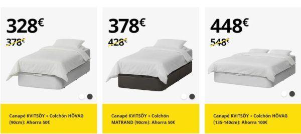Catalogo dormitorios Ikea enero 2021 rebajas canape