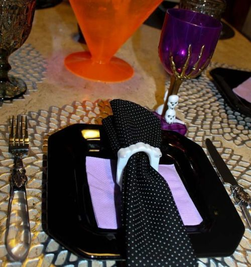 Menaje de Halloween para mesa