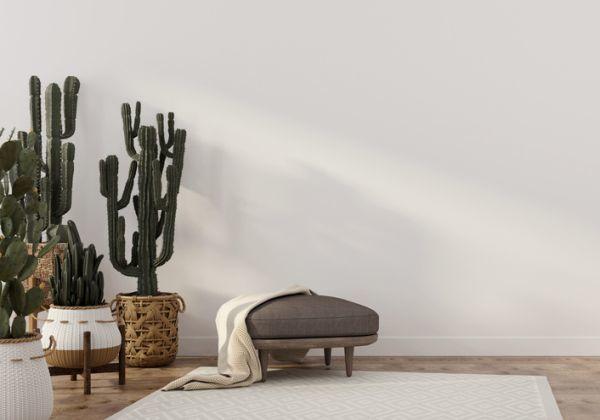 como-decorar-con-cactus-escultura-istock