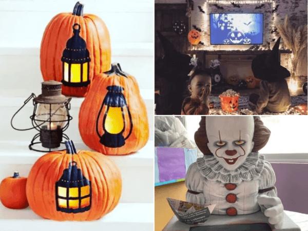 De 100 Fotos Con Decoración Halloween Casera 2020