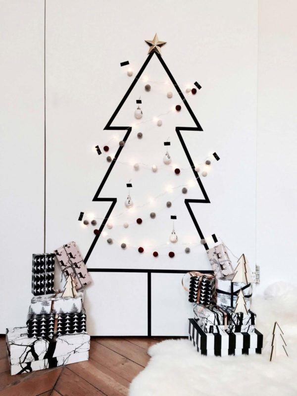 Árboles de Navidad de pared 2020 originales