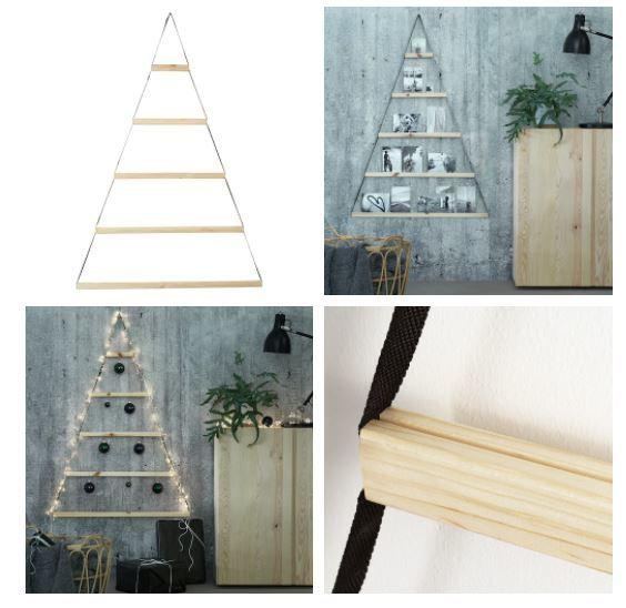 Árboles de Navidad de Madera 2020 de Ikea