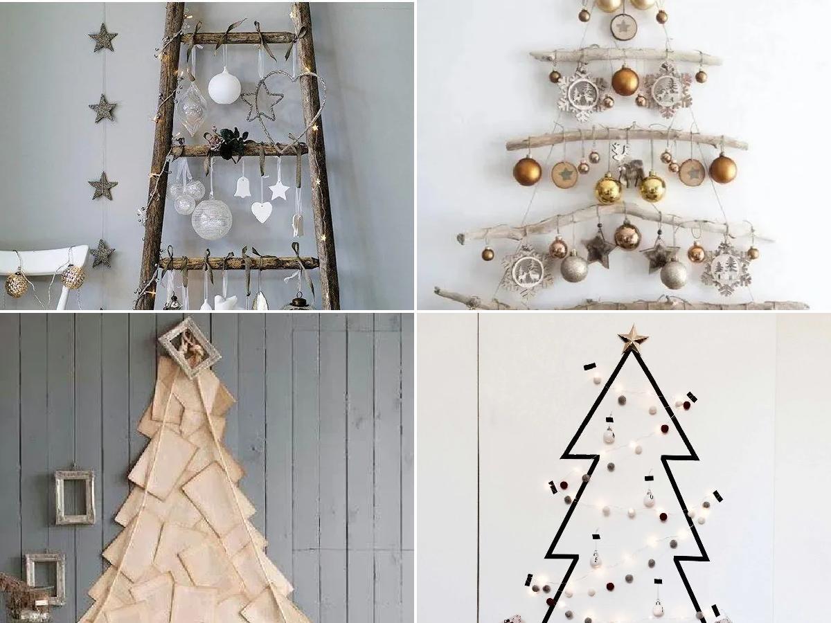 10 Ideas Para Hacer árboles De Navidad De Pared Caseros 2020 Espaciohogar Com
