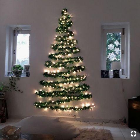 Árboles de Navidad de pared 2020 artificial