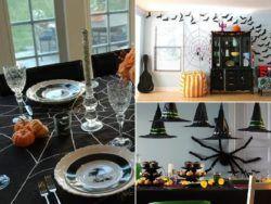 Decorar el salón para halloween