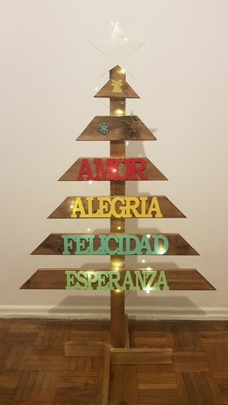 Cómo decorar un árbol de Navidad de Madera 2020: ideas originales