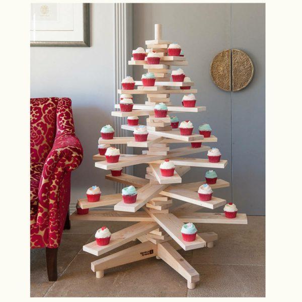 Cómo decorar un árbol de Navidad de Madera 2020 con bolas