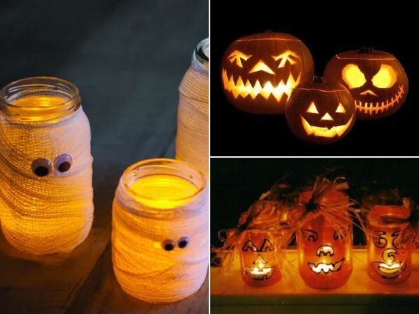Faroles para decorar en halloween