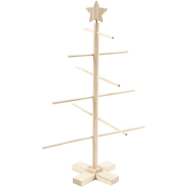 Árbol de Navidad de Madera con base