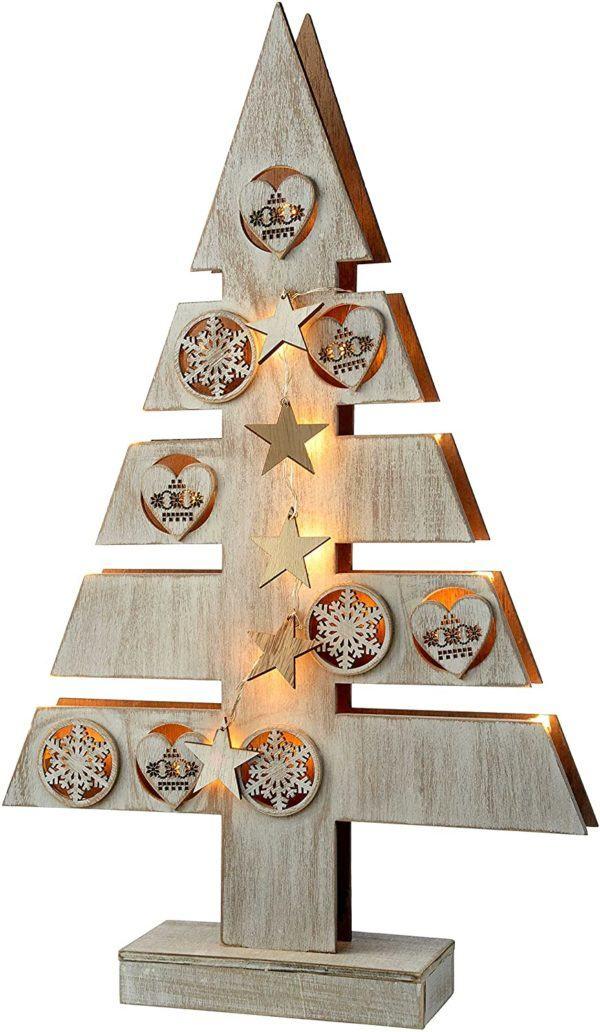 Árbol de Navidad de Madera pequeño