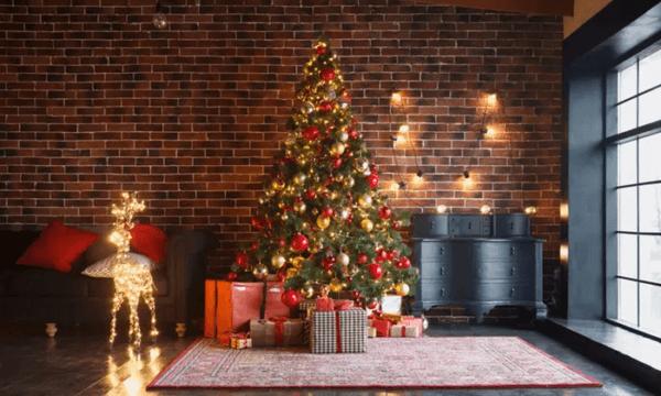 Catalogo arboles de navidad CARREFOUR 2020 arbol 120 cm decorado
