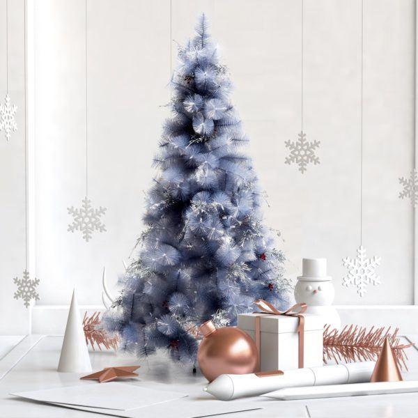 Catalogo arboles de navidad CARREFOUR 2020 arbol 150 cm nevado