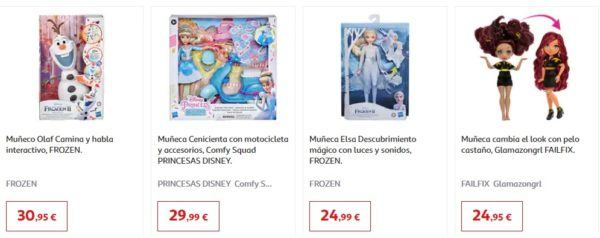 Catalogo juguetes alcampo navidad 2020 disney