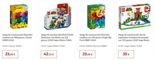 Catalogo juguetes alcampo navidad 2020 juegos lego
