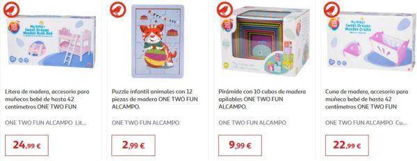 Catalogo juguetes alcampo navidad 2020 juguetes madera