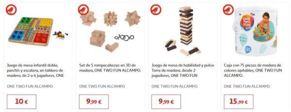 Catalogo juguetes alcampo navidad 2020 juguetes madera mesa