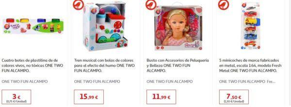 Catalogo juguetes alcampo navidad 2020 one two fun