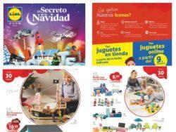 Catálogo Lidl Juguetes de Navidad 2020