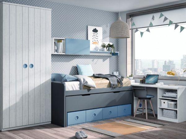 Catalogo merkamueble enero 2021 dormitorio juvenil modular moderno colores artico cobalto pizarra