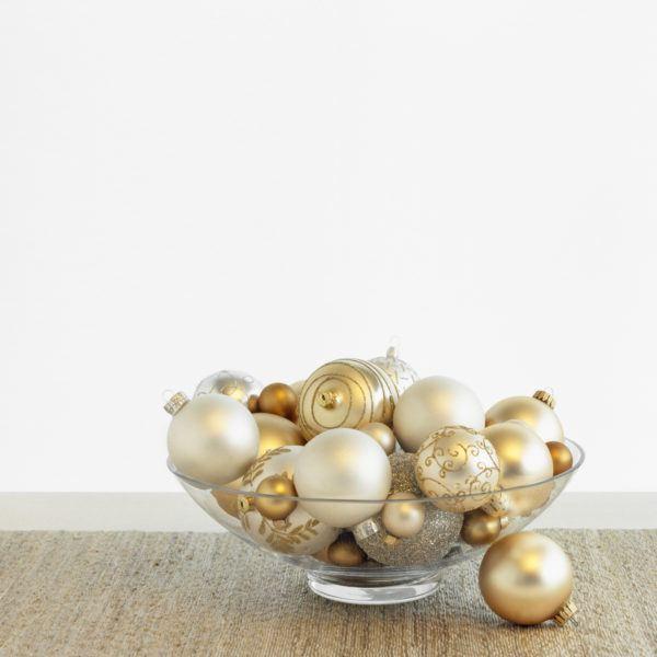 Centro de mesa navidad bolas