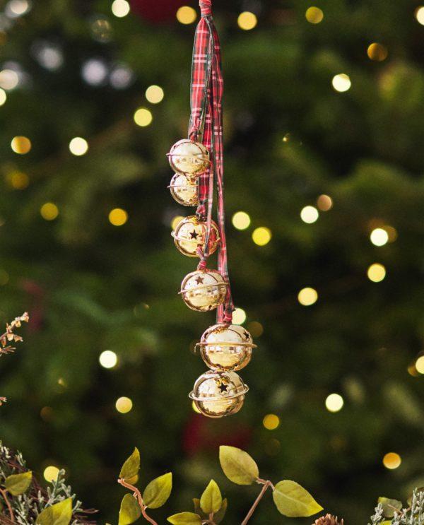 Decoracion de navidad 2020 2021 decoracion arbol cascabel zara home