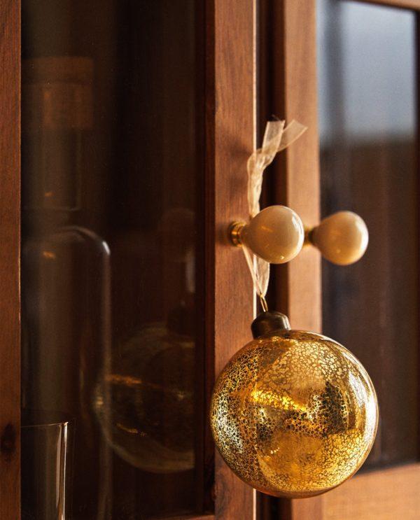 Decoracion de navidad 2020 2021 decoracion bola vidrio zara home