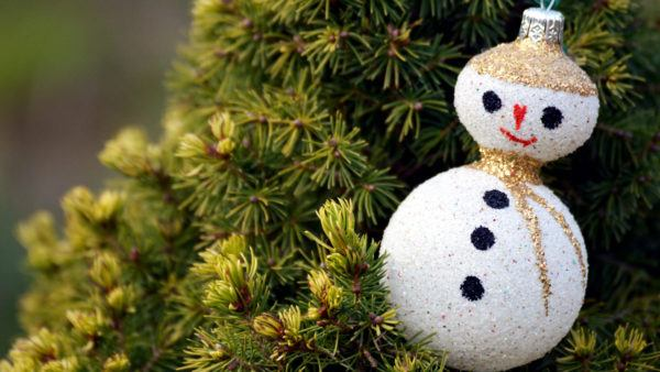 Decoracion de navidad 2020 2021 manualidad muñeco nieve