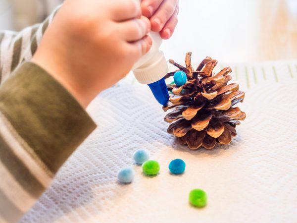 Manualidades para navidad 2020 2021 decorar piña