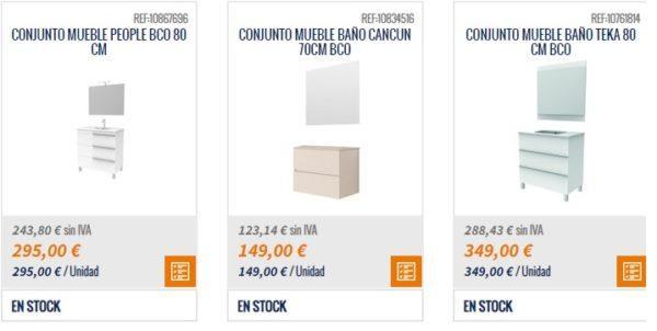 Catalogo BRICOMART cocinas 2021 mueble 80 cm