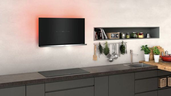 Campana horizontal de cocina