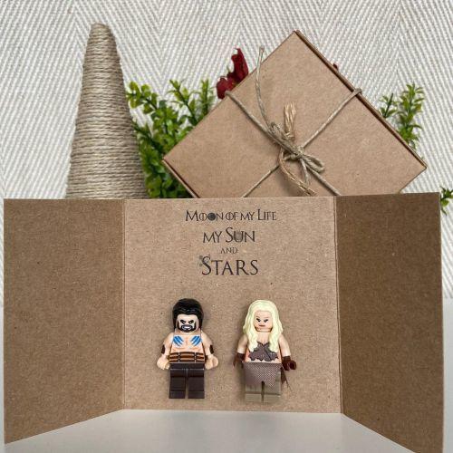 Tarjeta de San Valentín de Star wars