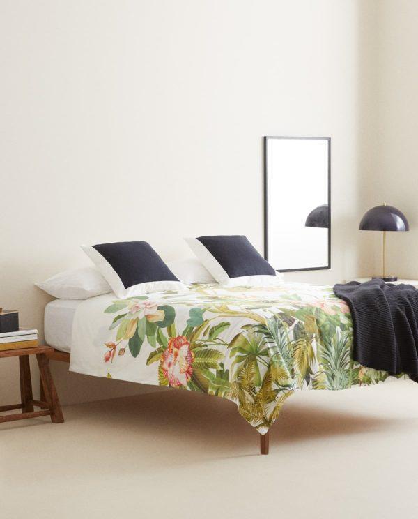 Descuentos y ofertas del Blue Monday en muebles y decoración Funda nórdica Zara Home