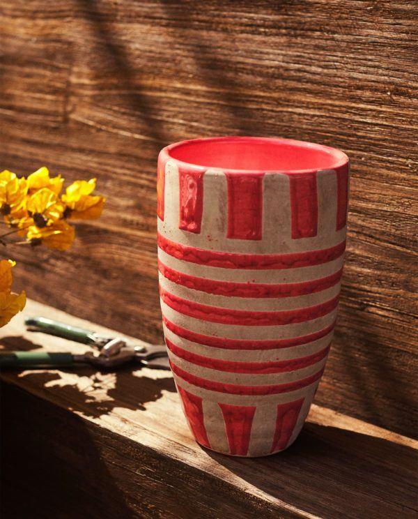 Descuentos y ofertas del Blue Monday en muebles y decoración jarrón rosa Zara Home
