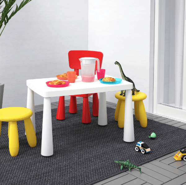 Descuentos y ofertas del Blue Monday en muebles y decoración mesa niños Ikea