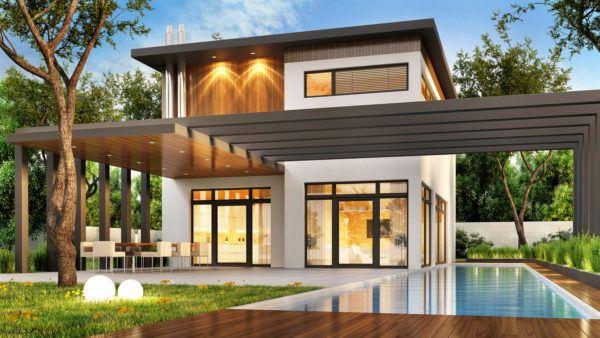 Ideas de fachadas de casas modernas fotos e ideas bonitas casa con arcos
