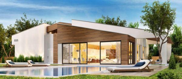 Ideas de fachadas de casas modernas fotos e ideas bonitas casa con madera