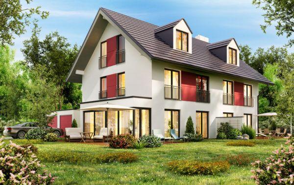 Ideas de fachadas de casas sencillas fotos e ideas bonitas casa blanco rojo