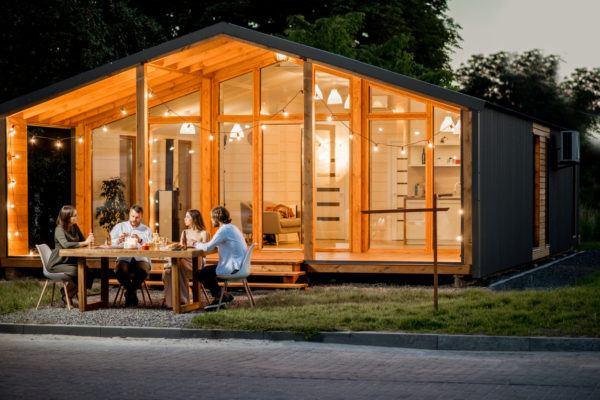Ideas de fachadas de casas sencillas fotos e ideas bonitas casa vidrio