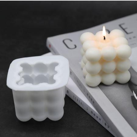 Molde para hacer velas de cubo de moda