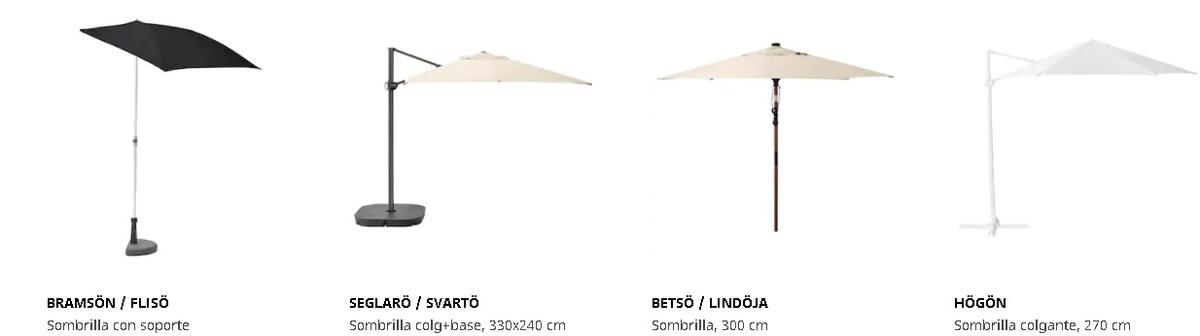 Sombrillas Ikea