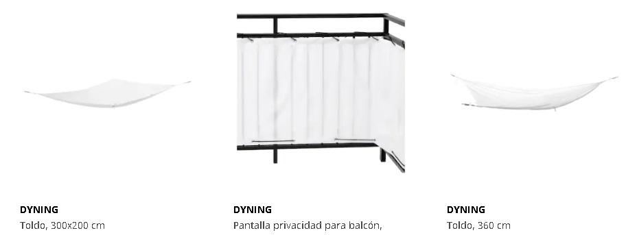 Toldos Ikea